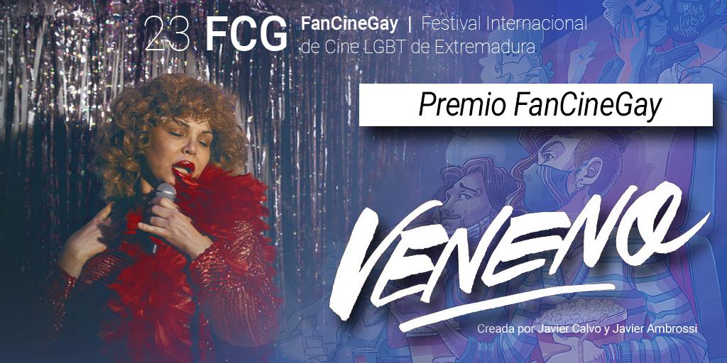 La serie Veneno es la gran premiada de este 23 FanCineGay