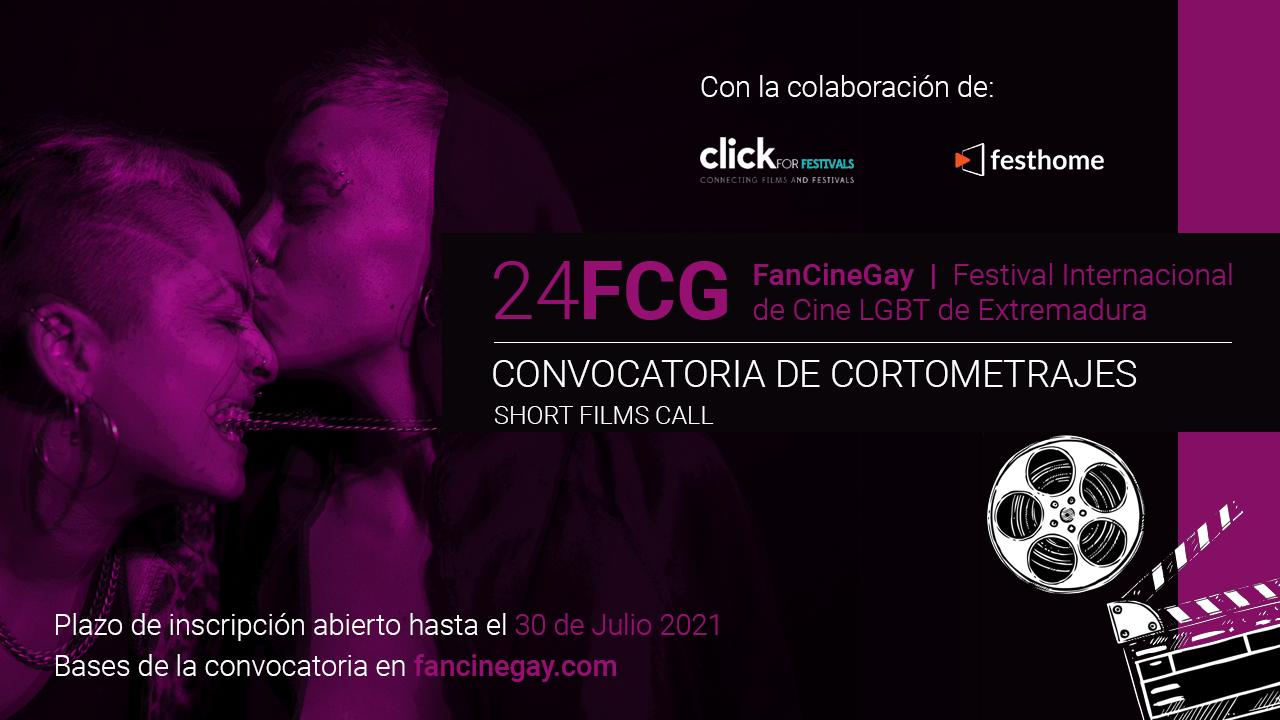 FANCINEGAY ABRE SU CONVOCATORIA ANUAL DE CORTOMETRAJES PARA LA 24ª EDICIÓN DEL FESTIVAL.