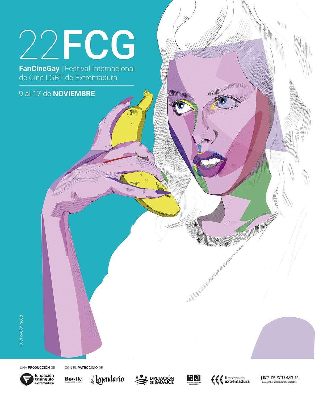 El extremeño Jonatan Carranza Sojo firma el cartel de la 22ª edición de FanCineGay