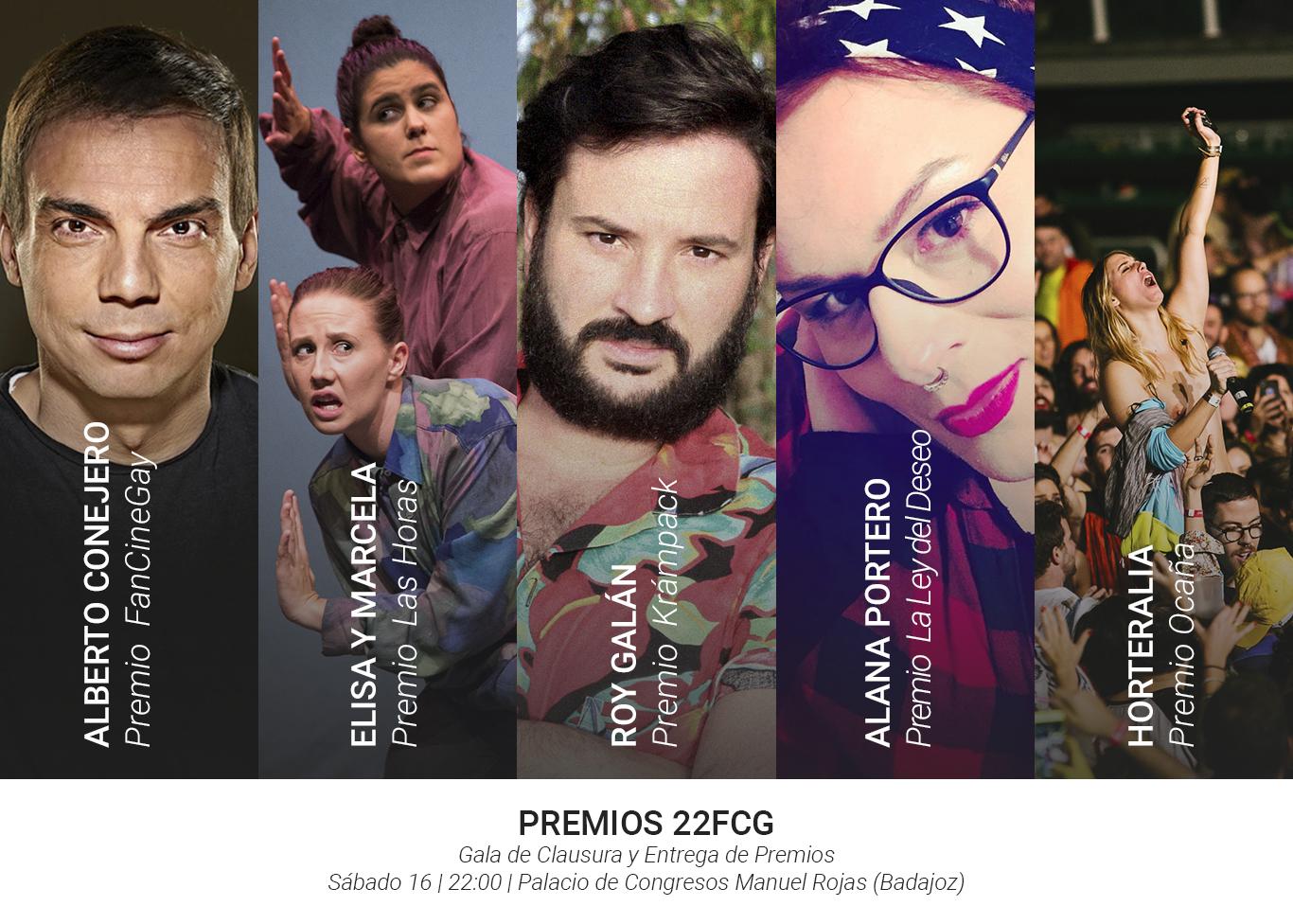 Alberto Conejero, Roy Galán, Alana Portero, Horteralia y la obra 'Elisa y Marcela' entre los premiados del 22 FanCineGay