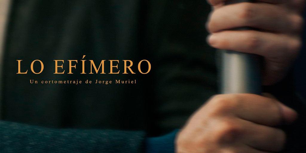 """""""Lo efímero"""" de Jorge Muriel, ganador del premio al mejor Cortometraje en la 23ª edición de FanCineGay"""