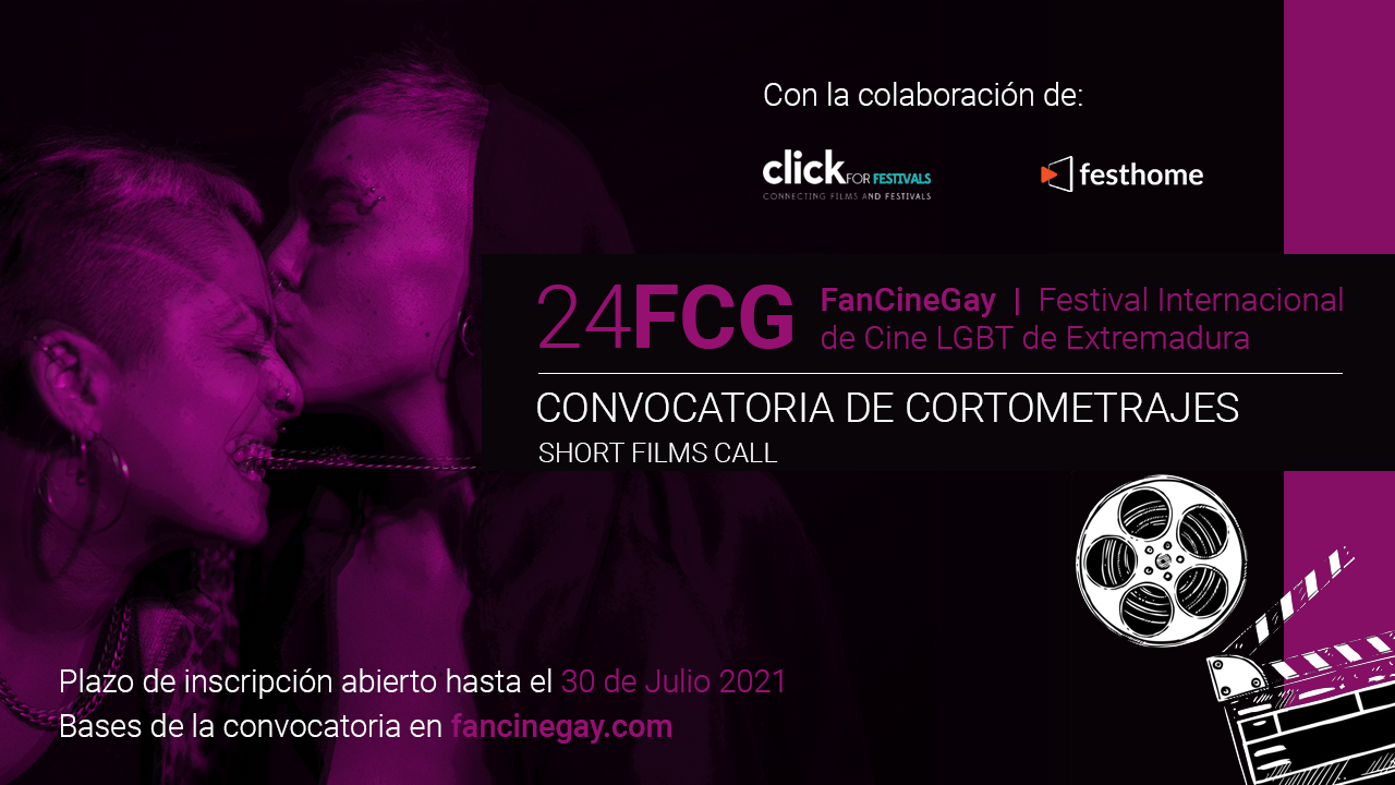 FanCineGay abre su convocatoria anual de Cortometrajes para la 24º Edición del Festival
