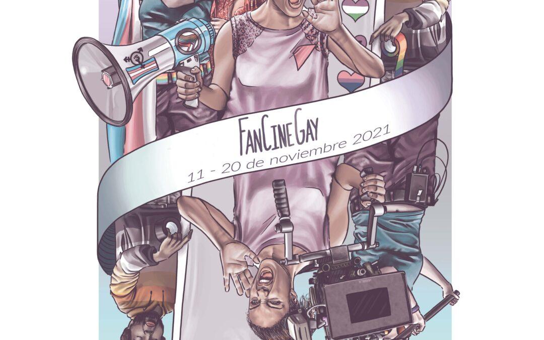 La zaragozana Eva Cortés Jiménez firma el cartel de la 24º Edición del FanCineGay
